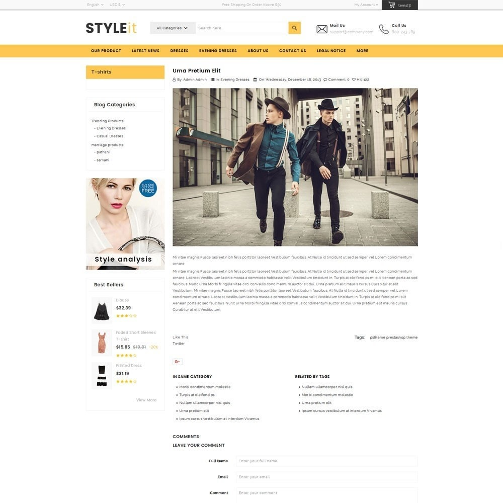 theme - Fashion & Shoes - Styleit Fashion Store - 7