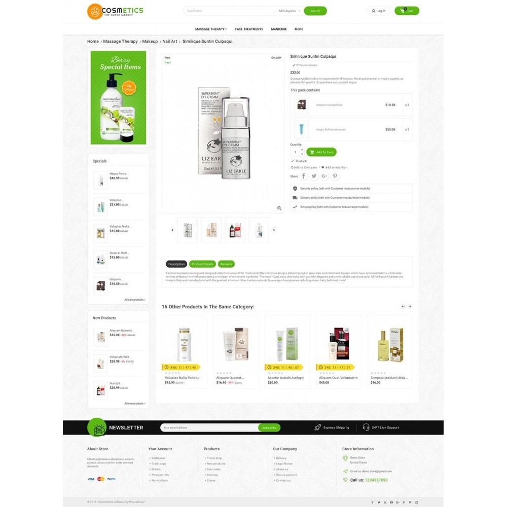 theme - Здоровье и красота - Mega Shoppe Bio Cosmetics - 5