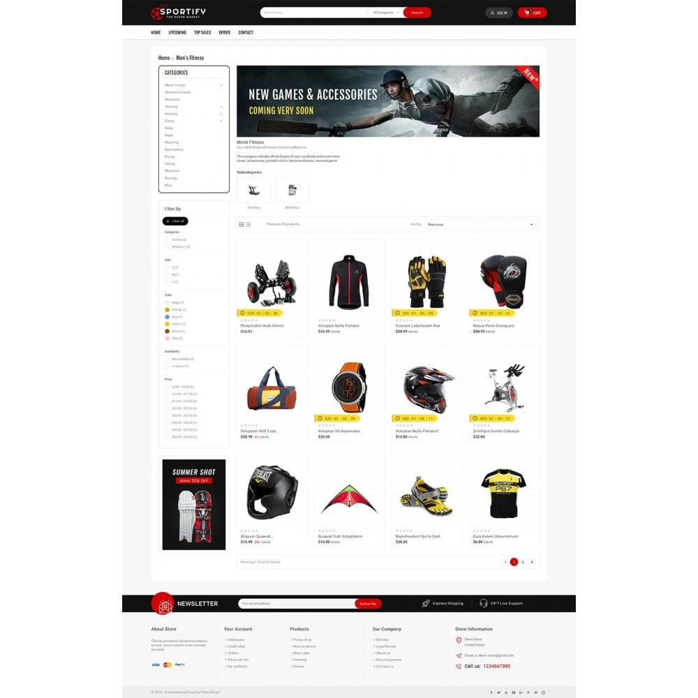 Mega Shoppe Sports