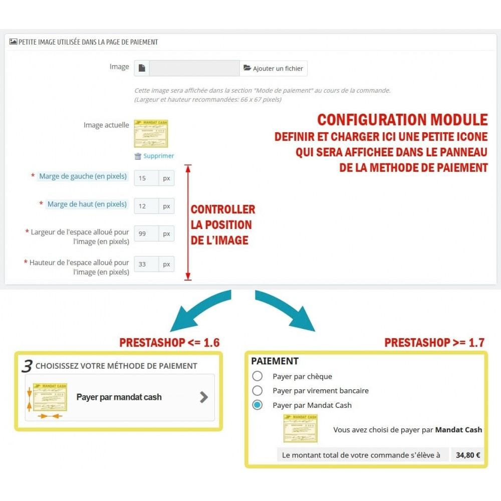 module - Autres moyens de paiement - WK Mandat Cash - 3