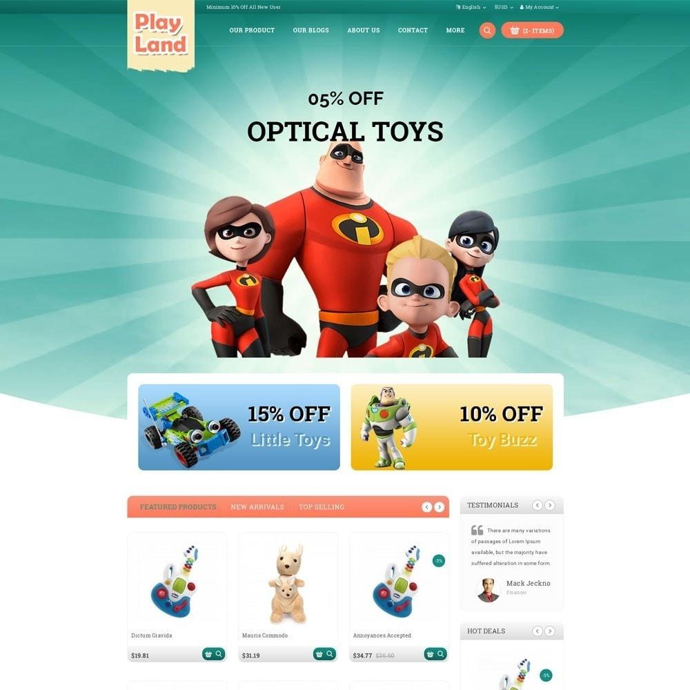 theme - Zabawki & Artykuły dziecięce - Playland - Kids Shop - 2