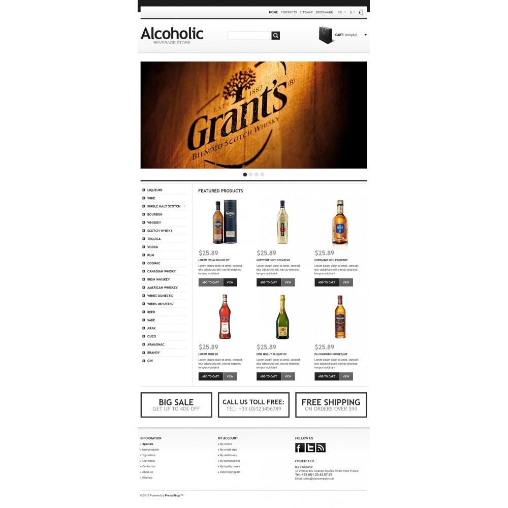 theme - Alimentation & Restauration - Alcoholic Beverage Store - 5