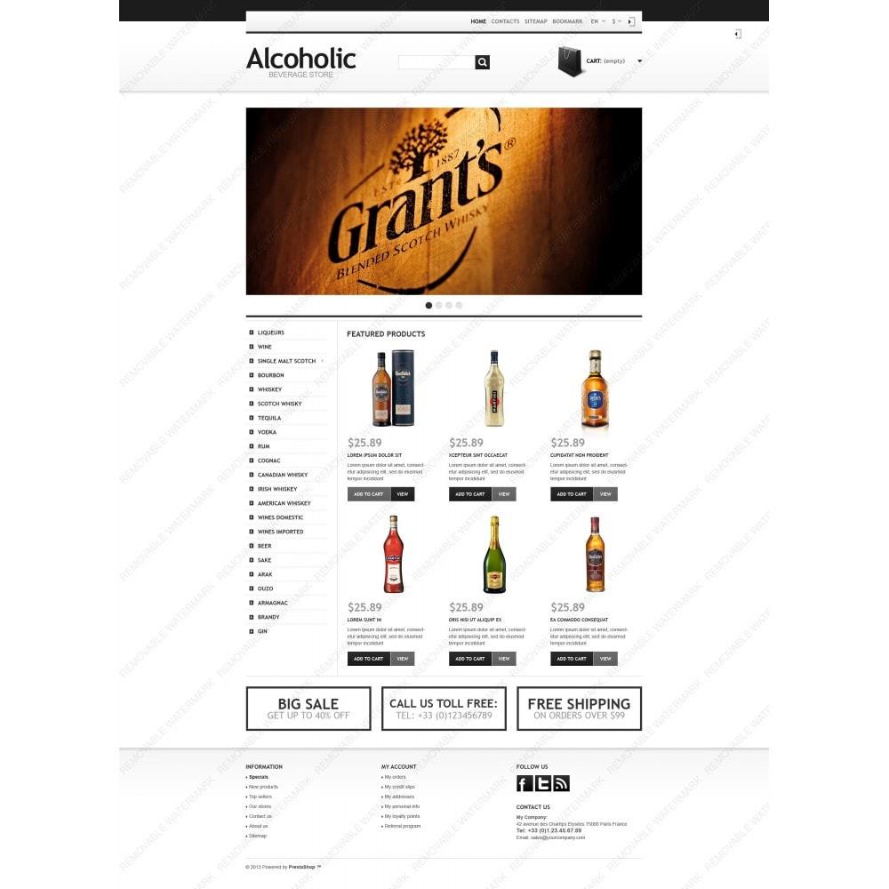 theme - Alimentation & Restauration - Alcoholic Beverage Store - 6
