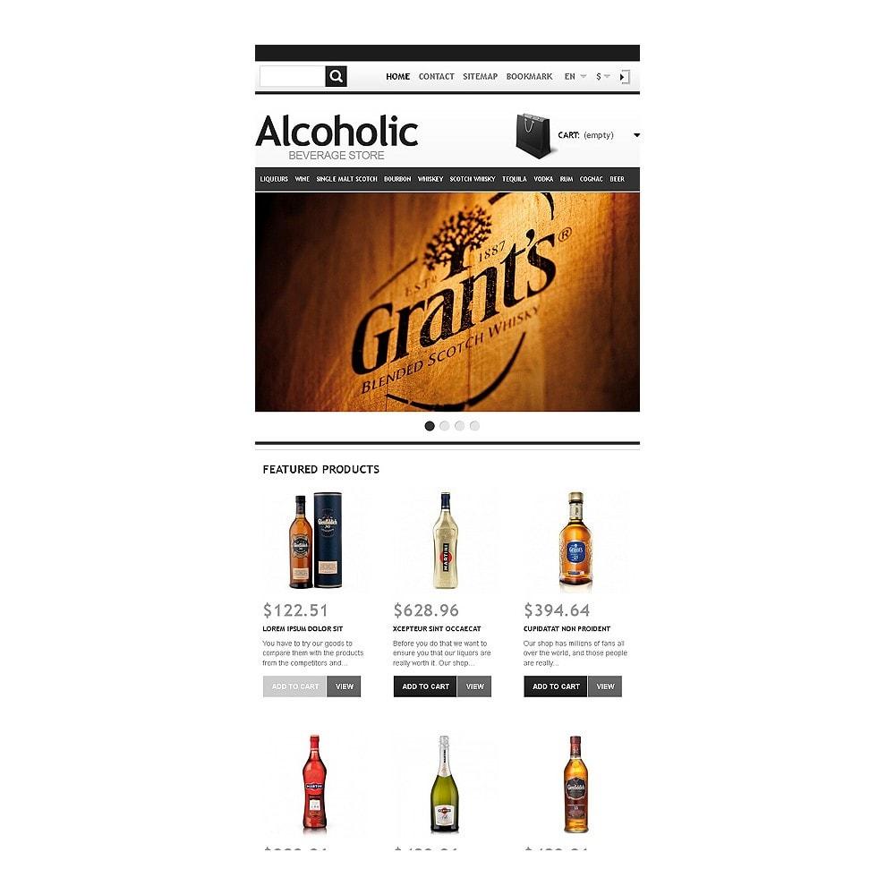 theme - Alimentation & Restauration - Alcoholic Beverage Store - 8
