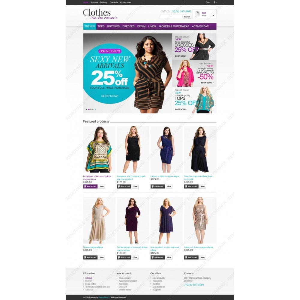 theme - Moda & Calzature - Store for Puffy Ladies - 4