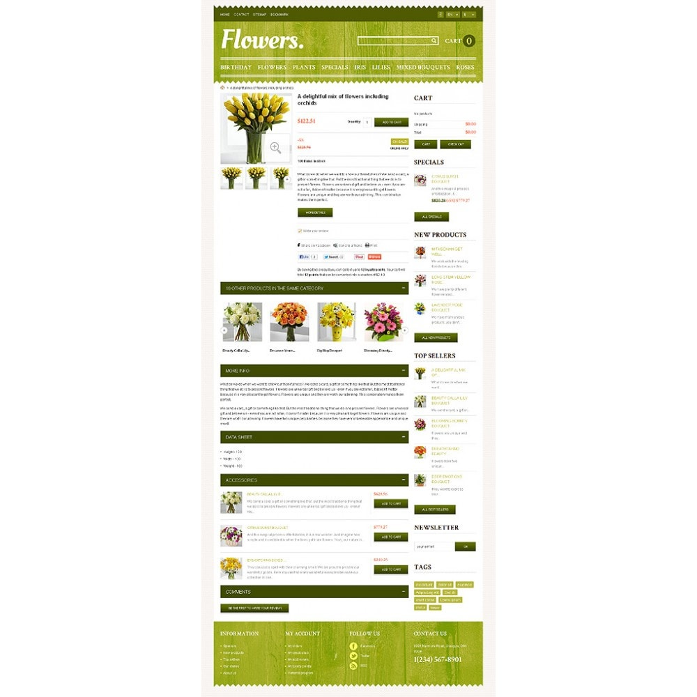 theme - Gifts, Flowers & Celebrations - Responsive Flowers Store - 7