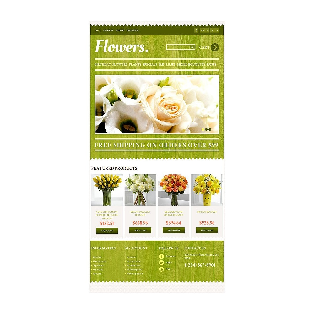theme - Gifts, Flowers & Celebrations - Responsive Flowers Store - 8