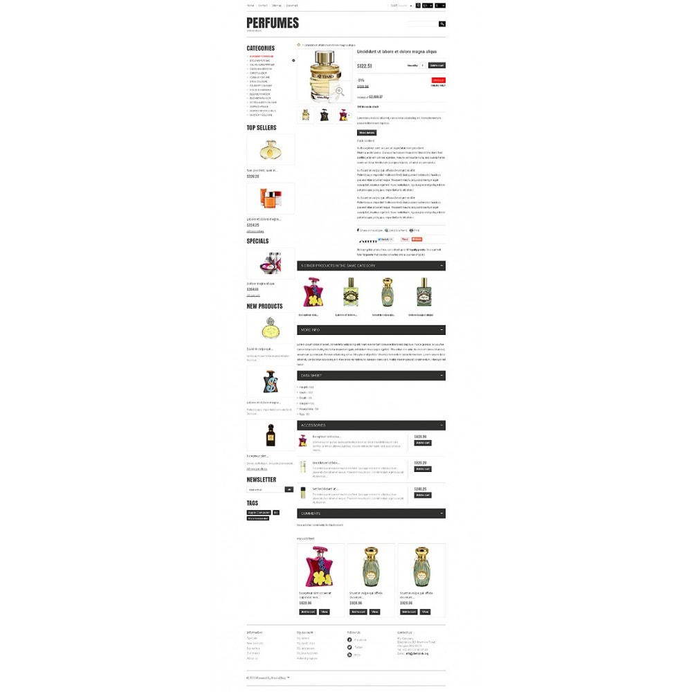theme - Moda & Obuwie - Responsive Perfumes Store - 7