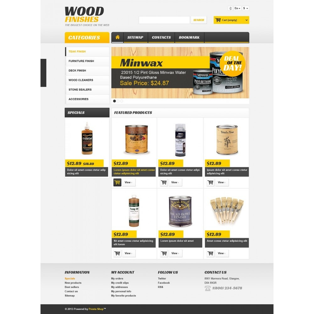 theme - Arte e Cultura - Wood Finishes Store - 2