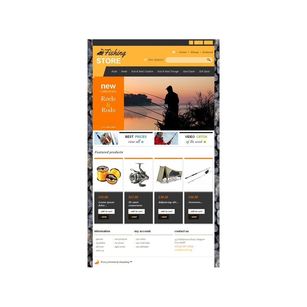 theme - Sports, Activities & Travel - Responsive Fishing Shop - 8