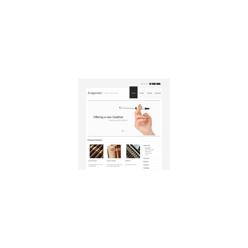 theme - Heim & Garten - Electronic Cigarettes Store - 2