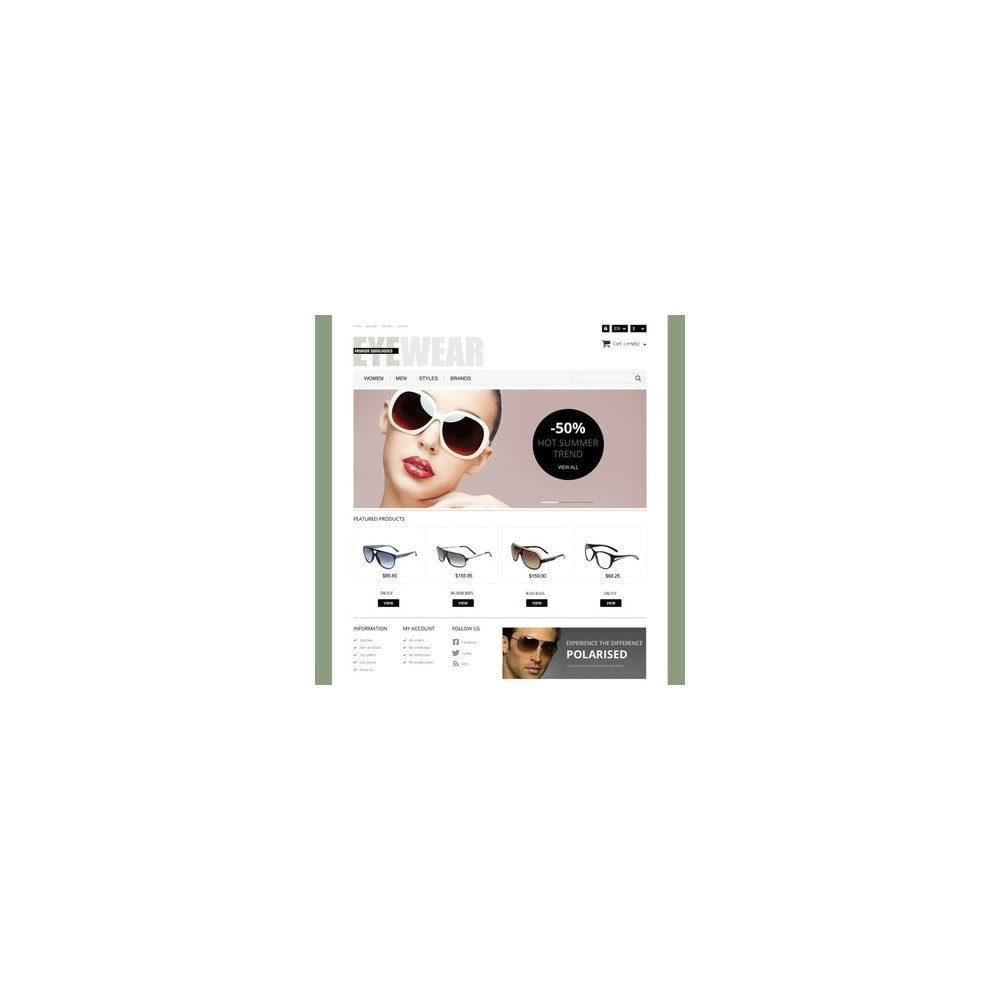 theme - Moda & Calzature - Responsive Eyewear Store - 2