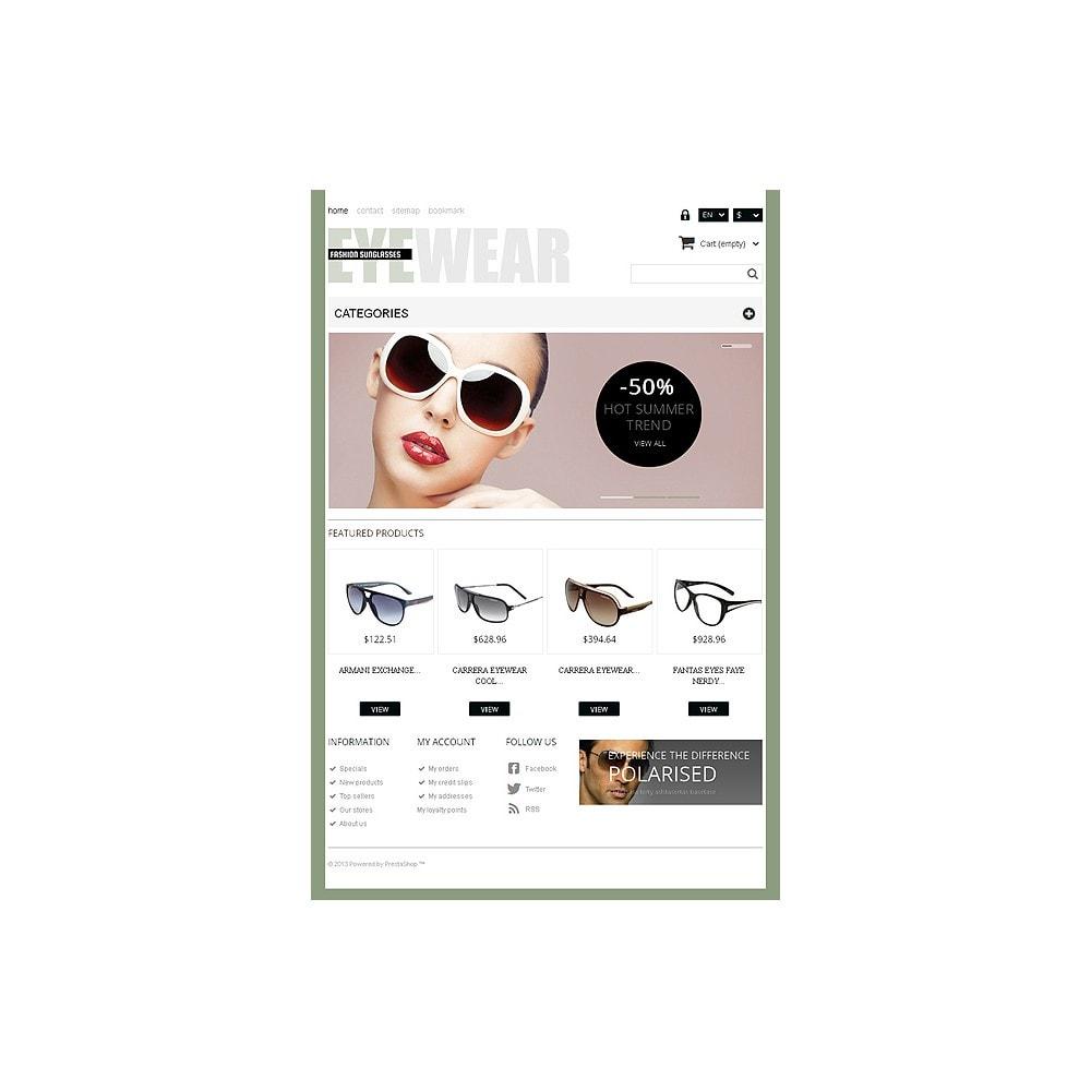 theme - Moda & Calzature - Responsive Eyewear Store - 8