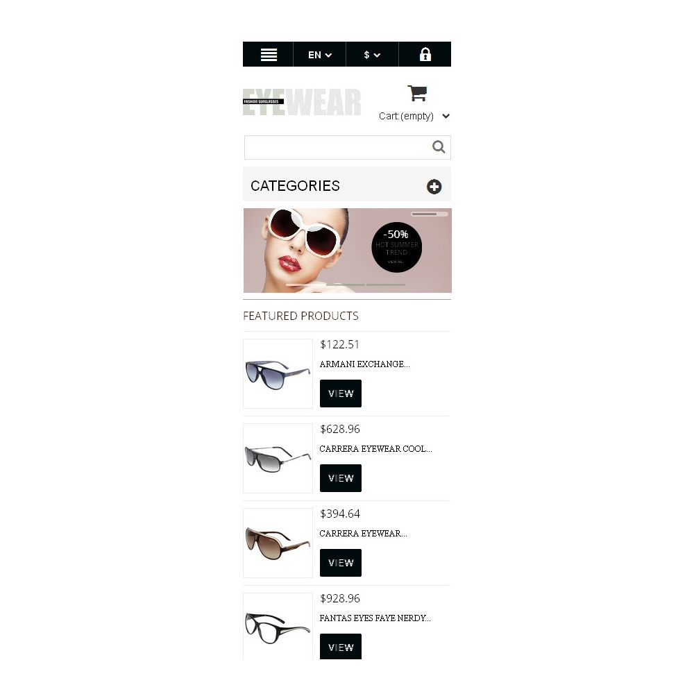 theme - Moda & Calzature - Responsive Eyewear Store - 10