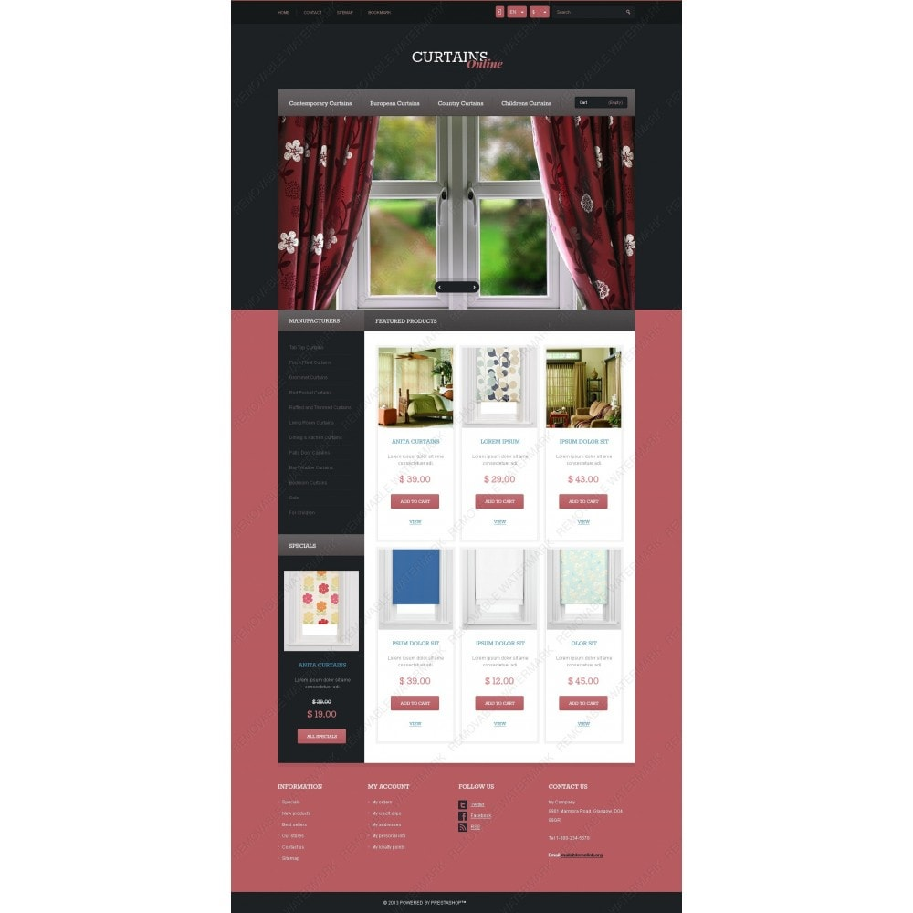 Responsive Curtains Store