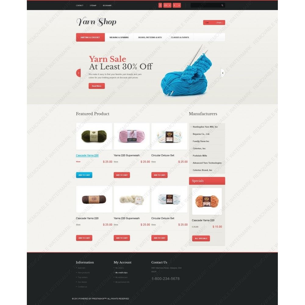 theme - Enfants & Jouets - Responsive Yarn Shop - 6