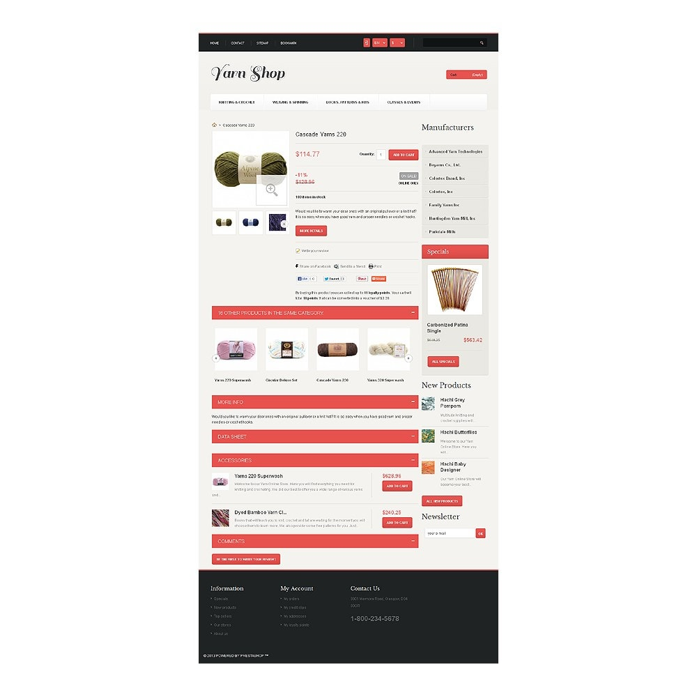 theme - Enfants & Jouets - Responsive Yarn Shop - 7