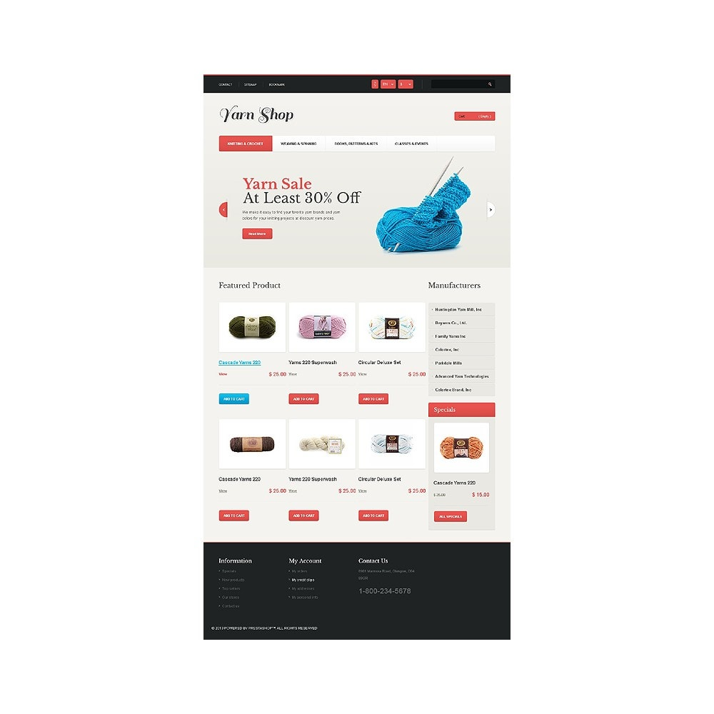 theme - Kids & Toys - Responsive Yarn Shop - 11