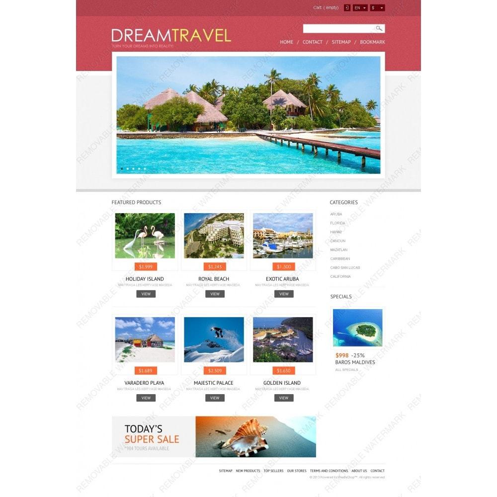 theme - Спорт и Путешествия - Dream Travel Store - 3