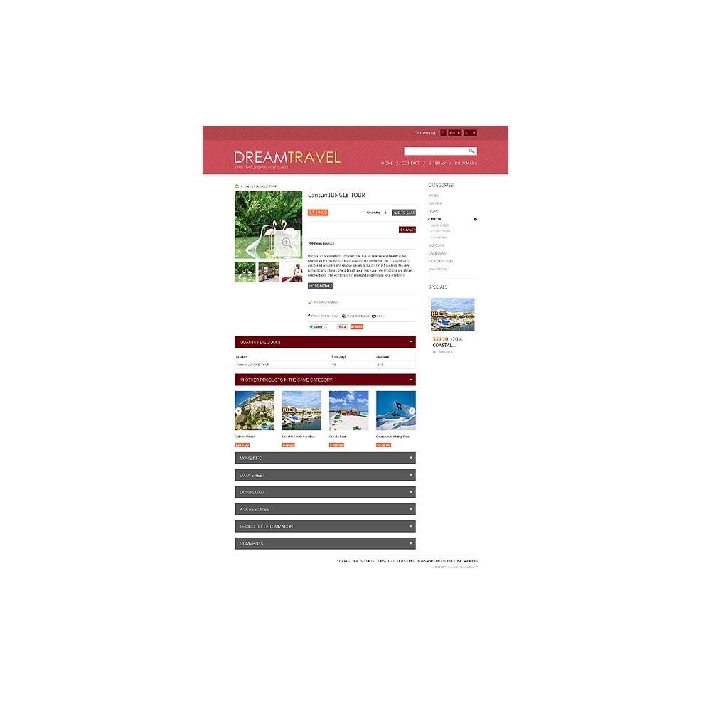 theme - Спорт и Путешествия - Dream Travel Store - 7
