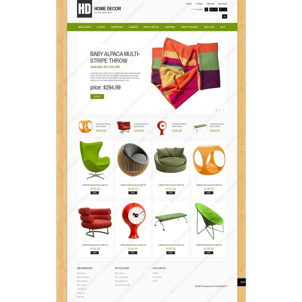 theme - Arte & Cultura - Responsive Home Decor Store - 3
