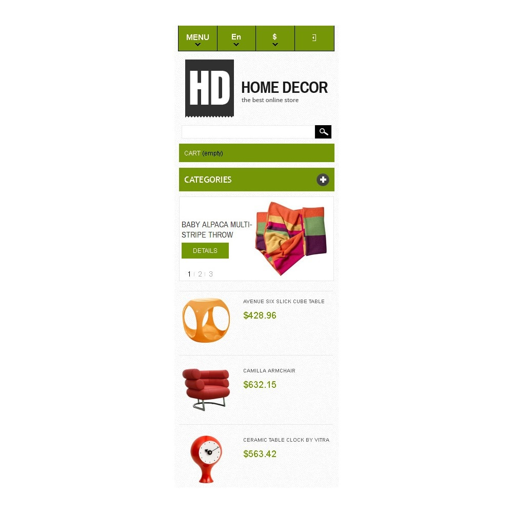 theme - Art & Culture - Responsive Home Decor Store - 10