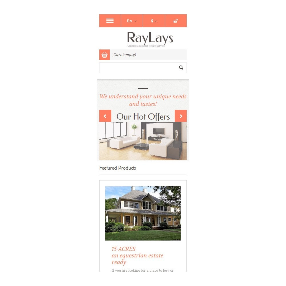 theme - Temas PrestaShop - Responsive Real Estate Store - 10