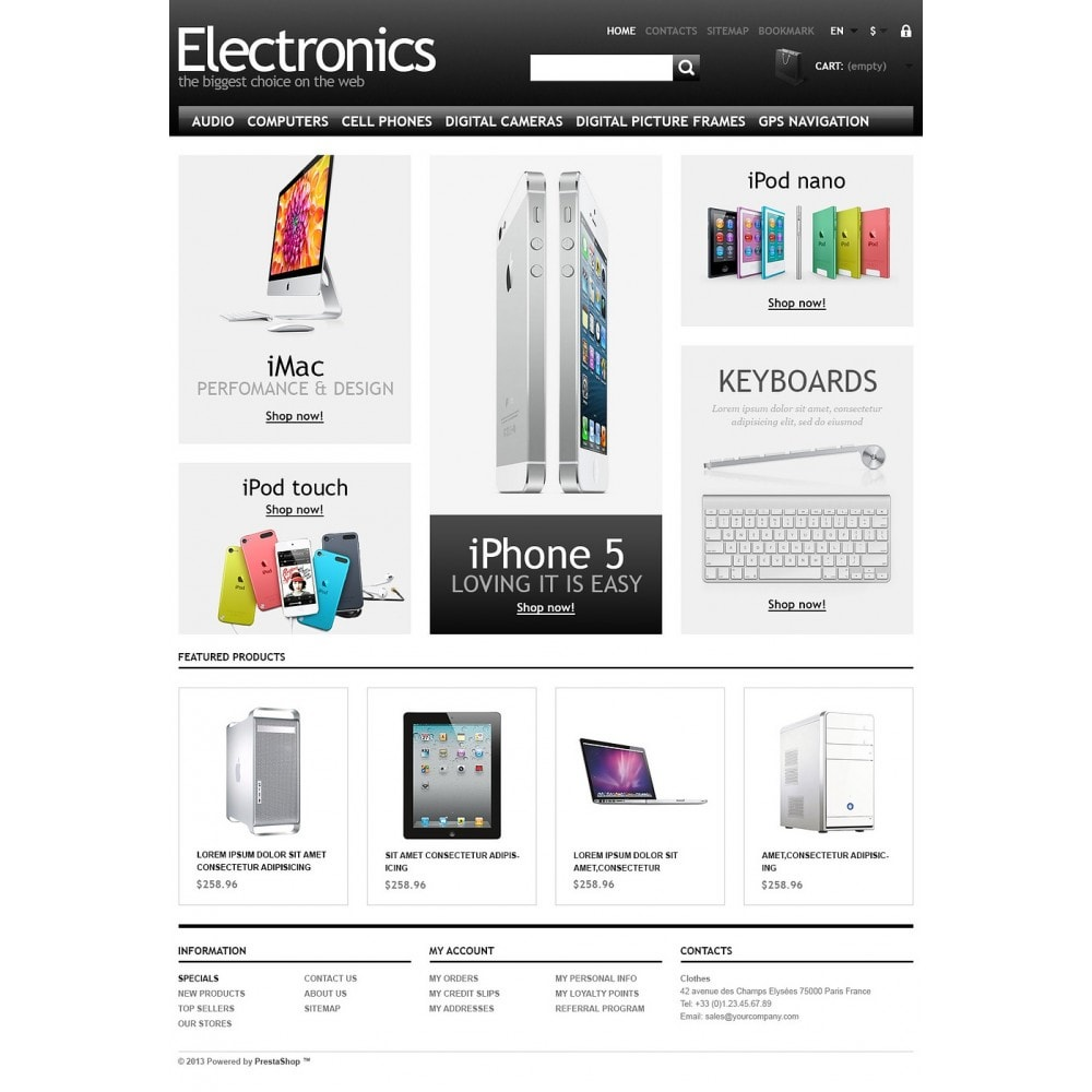theme - Eletrônicos & High Tech - Powerful Electronics Store - 5