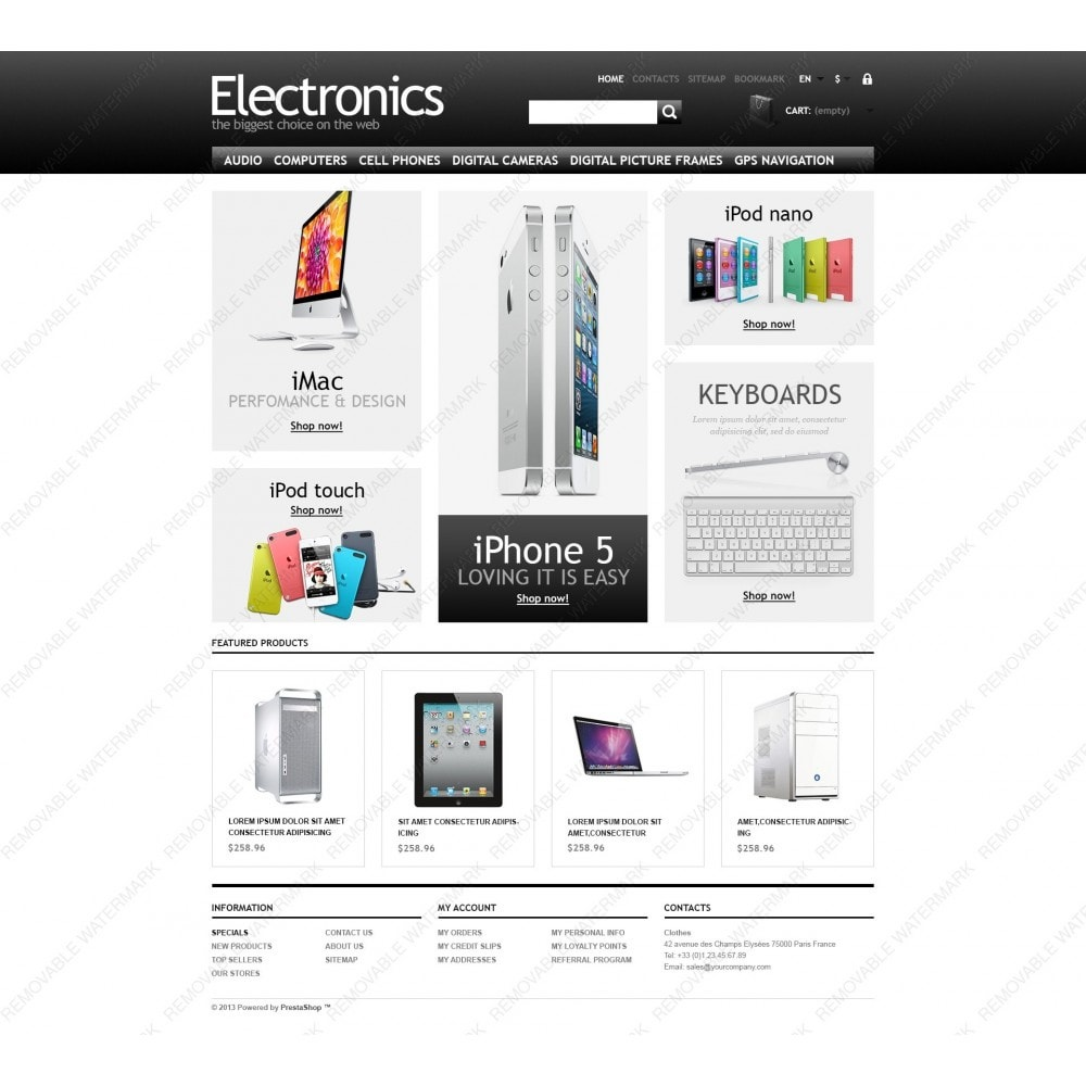 theme - Eletrônicos & High Tech - Powerful Electronics Store - 6