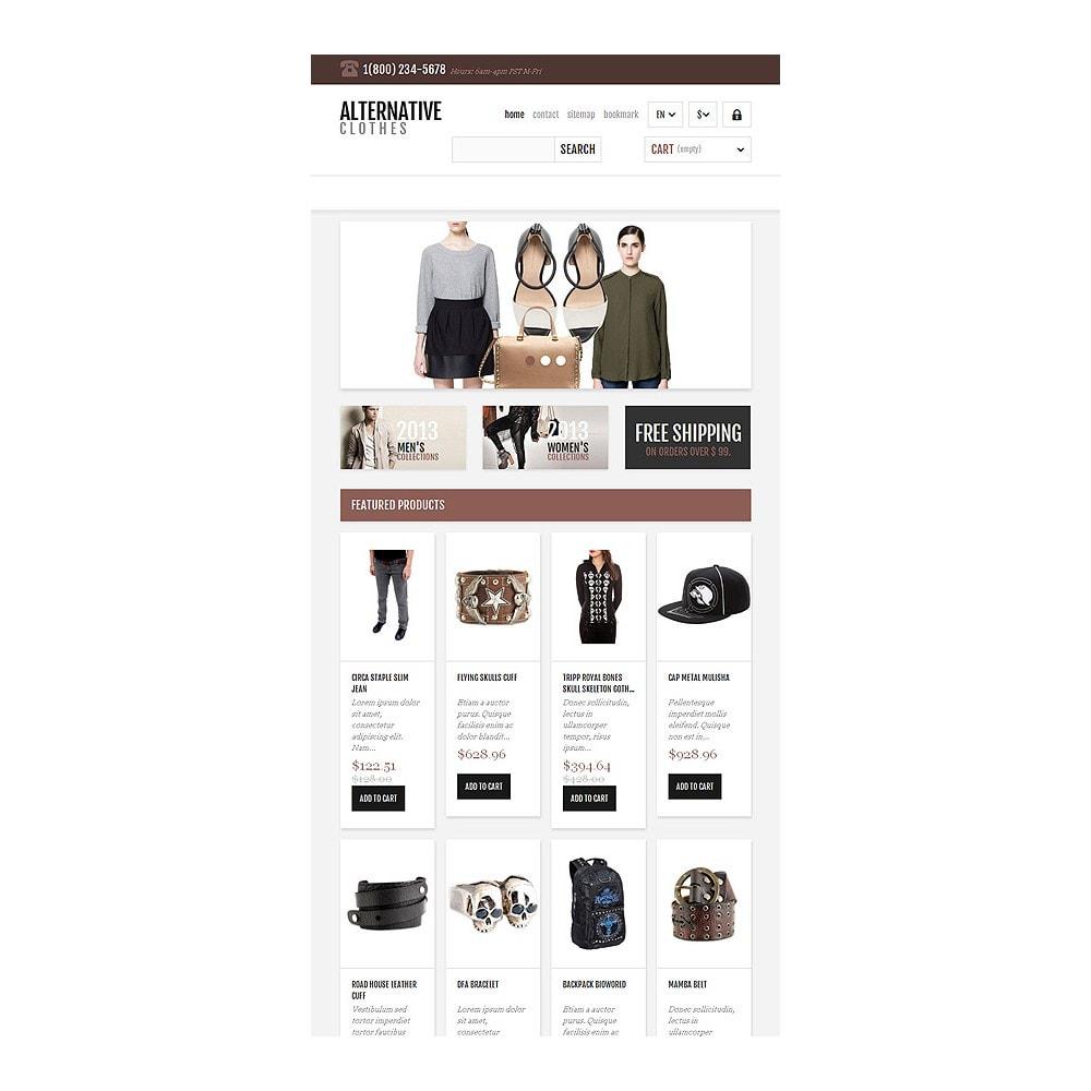 theme - Mode & Chaussures - Magasin adaptatif de vêtements alternatifs - 8