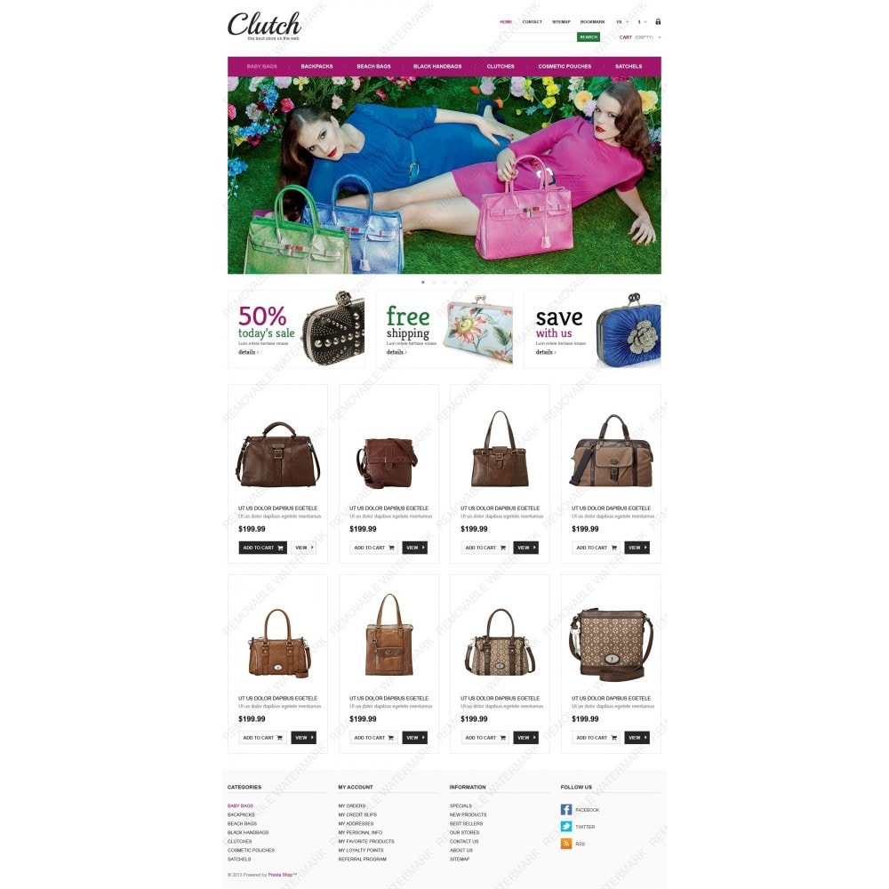 theme - Fashion & Shoes - Responsive Bags Store - 4