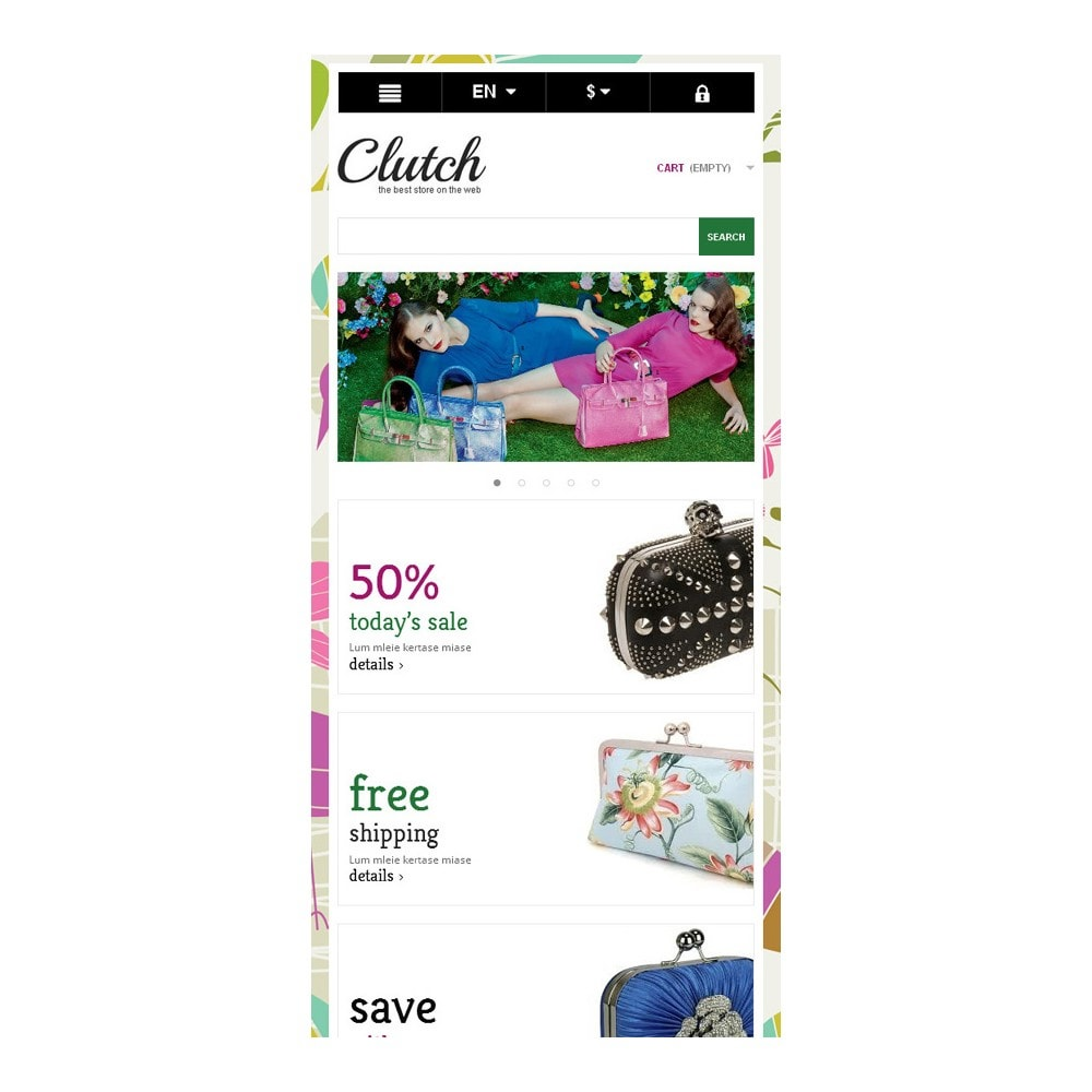 theme - Fashion & Shoes - Responsive Bags Store - 9