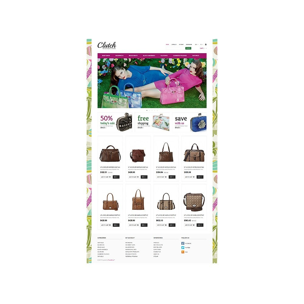 theme - Fashion & Shoes - Responsive Bags Store - 11