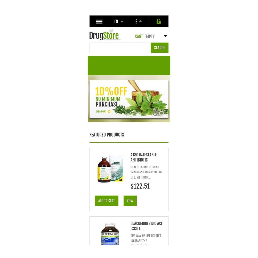 theme - Health & Beauty - Responsive Drug Store - 10