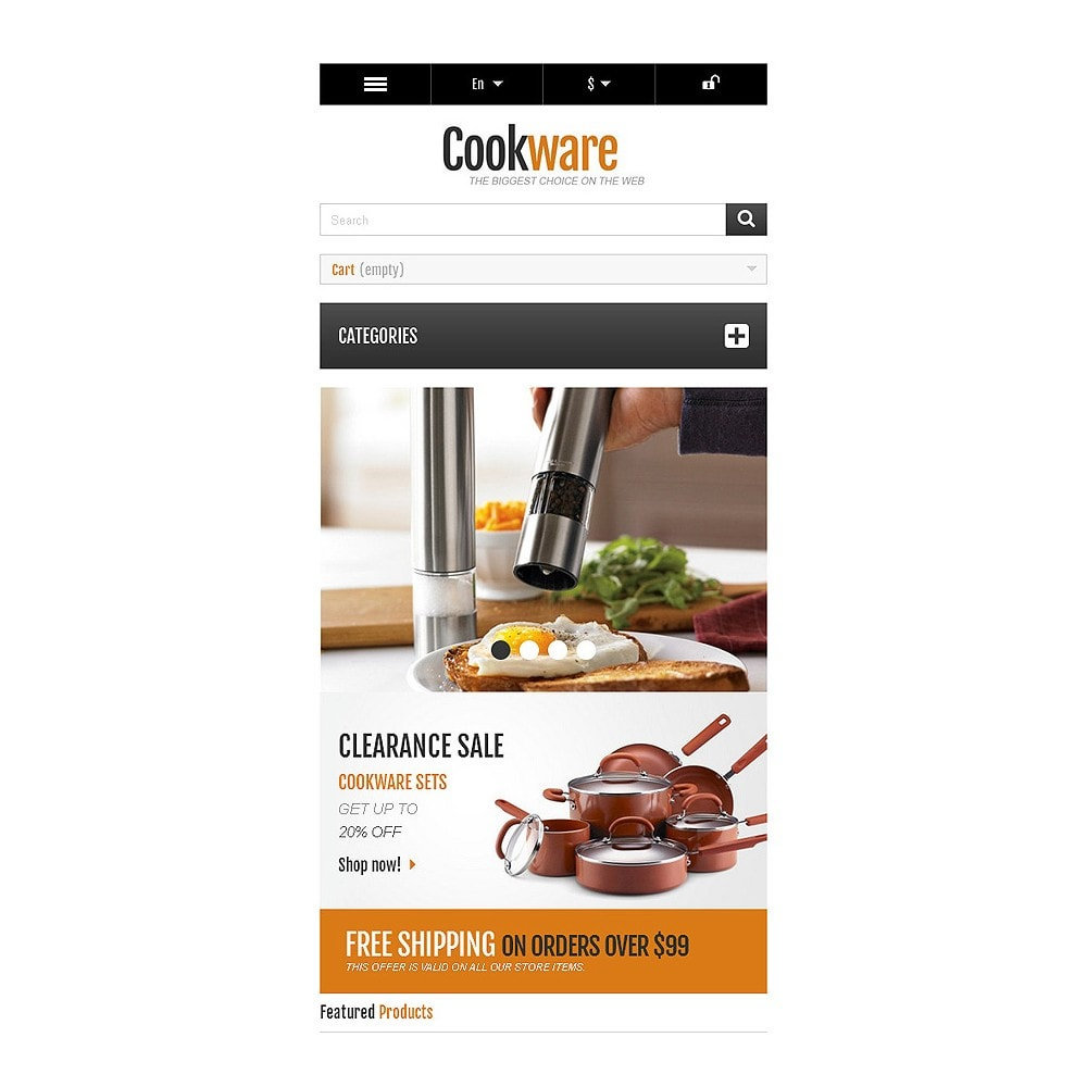 theme - Искусство и Культура - Responsive Cookware Shop - 9