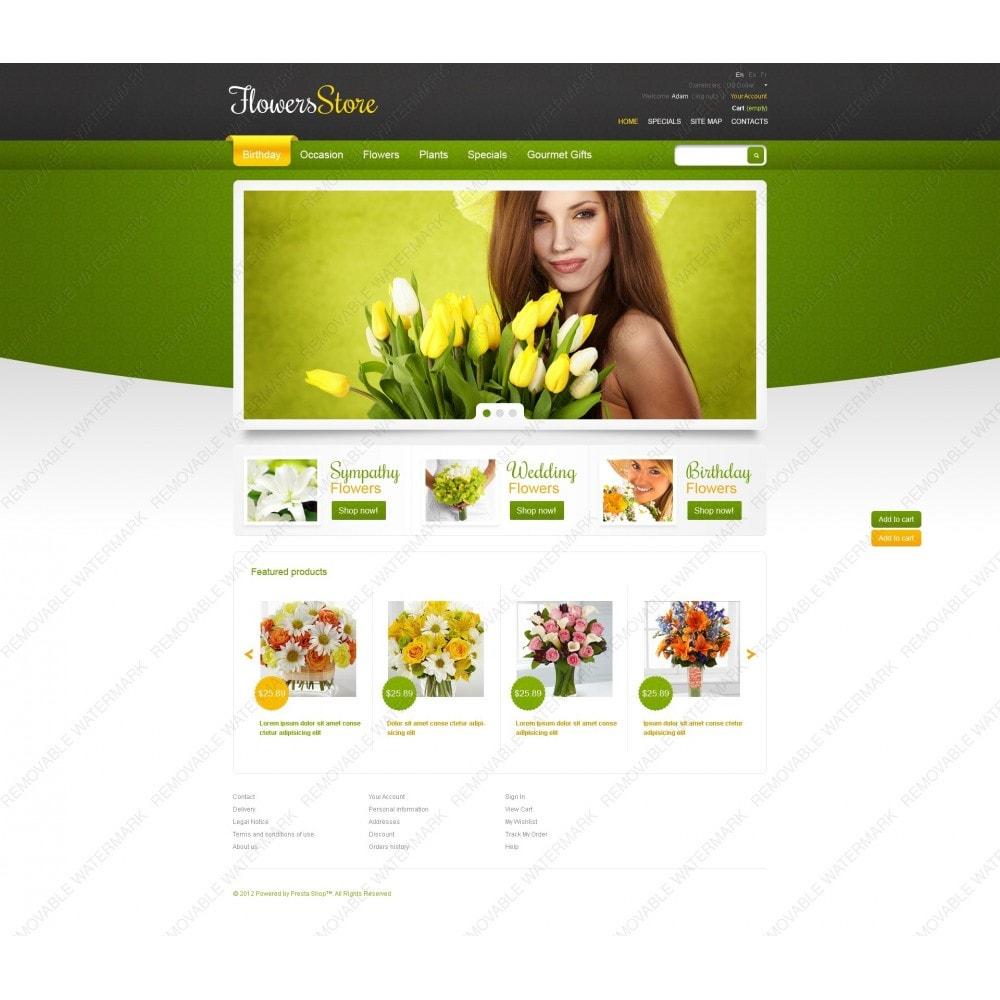 theme - Подарки, Цветы и праздничные товары - Responsive Flowers Store - 6