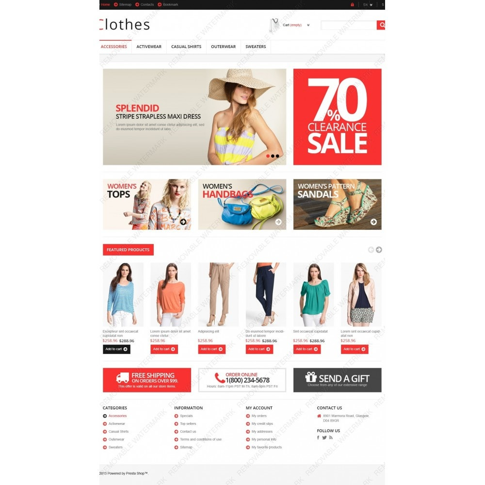 theme - Mode & Schuhe - Responsive Clothing Store - 4