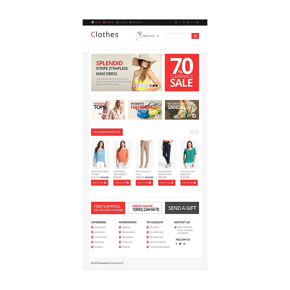 theme - Fashion & Shoes - Responsive Clothing Store - 8