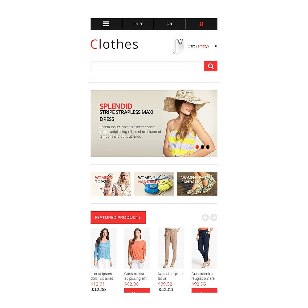 theme - Mode & Schoenen - Responsive Clothing Store - 9