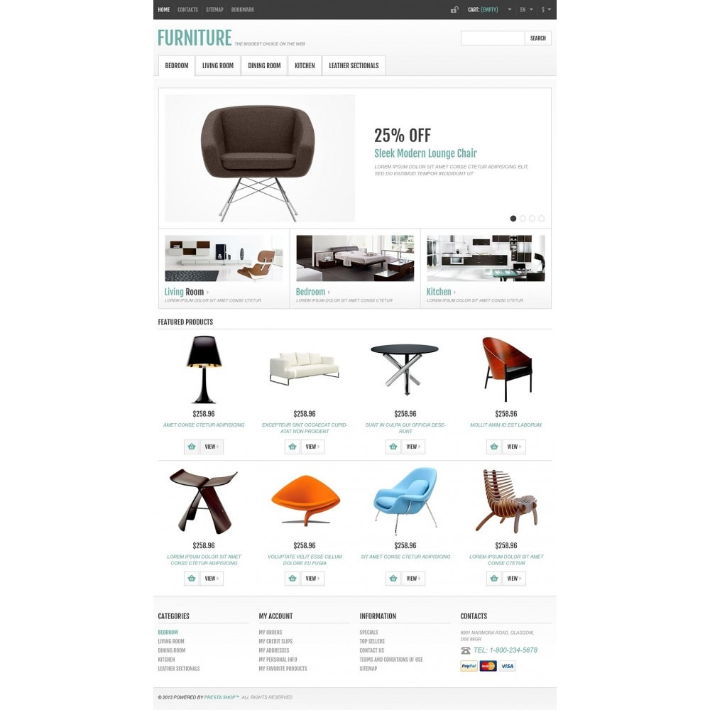Responsive Furniture Store
