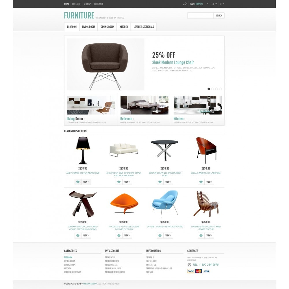 theme - Art & Culture - Responsive Furniture Store - 5