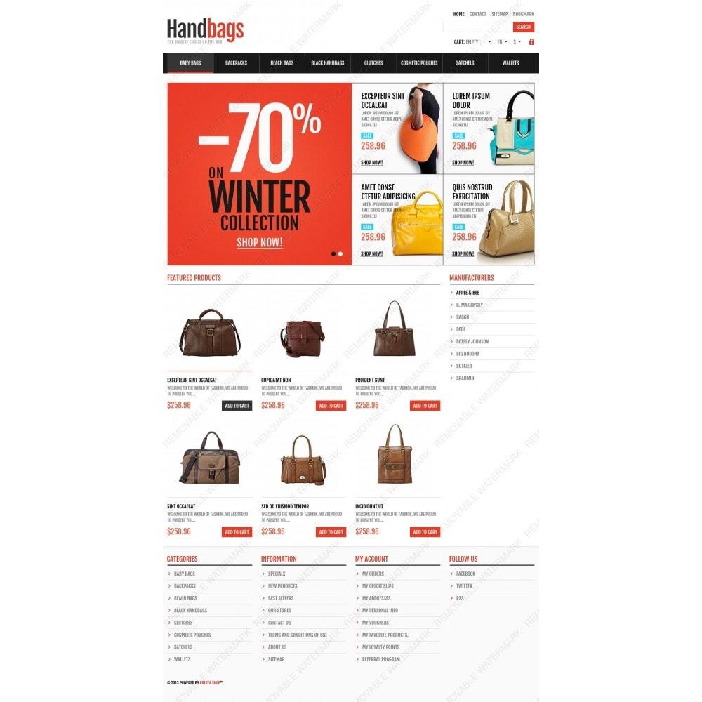 theme - Moda & Calzature - Responsive Handbags Store - 4
