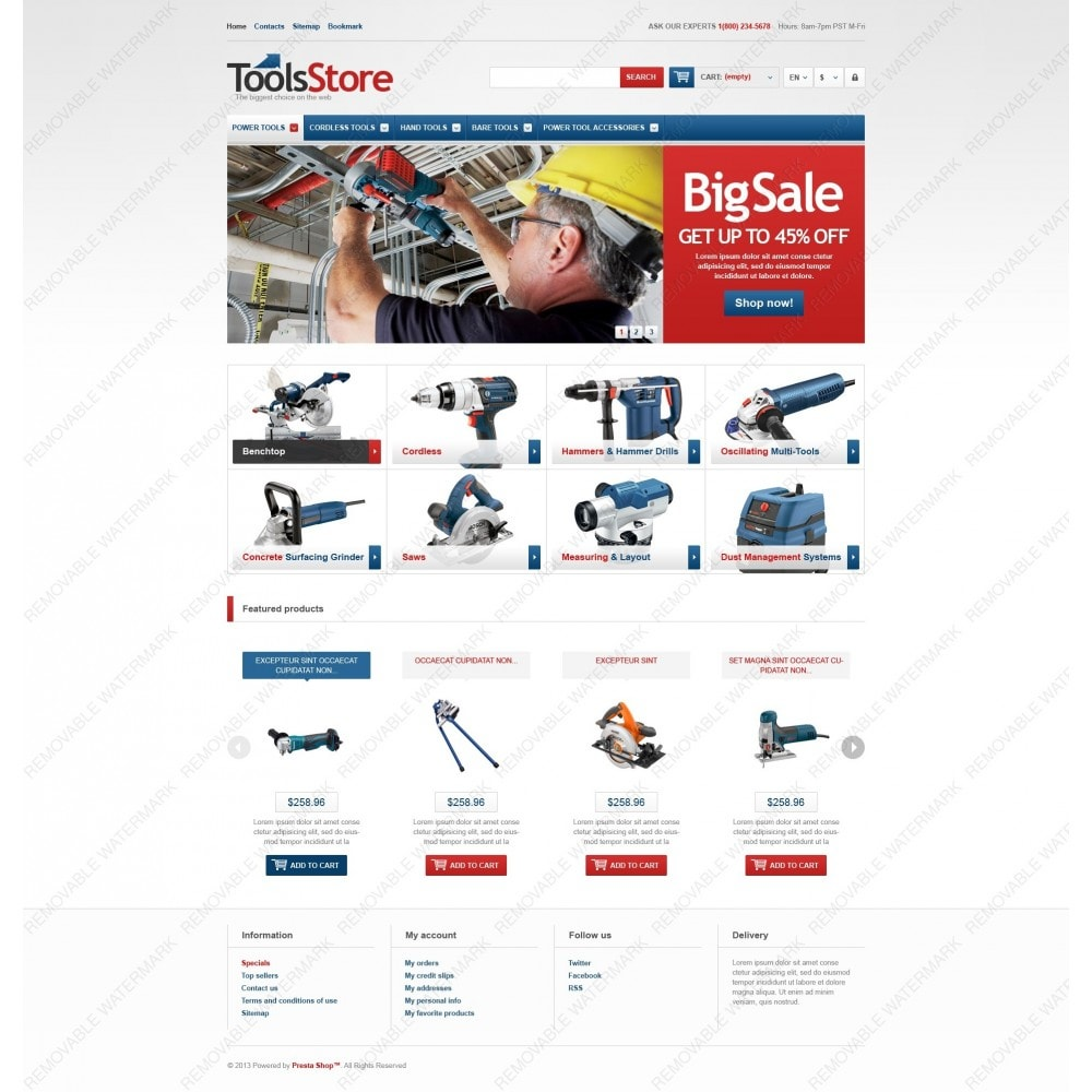 theme - Dom & Ogród - Responsive Tools Store - 6