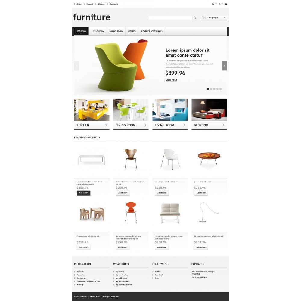 theme - Kunst & Kultur - Responsive Furniture Store - 2