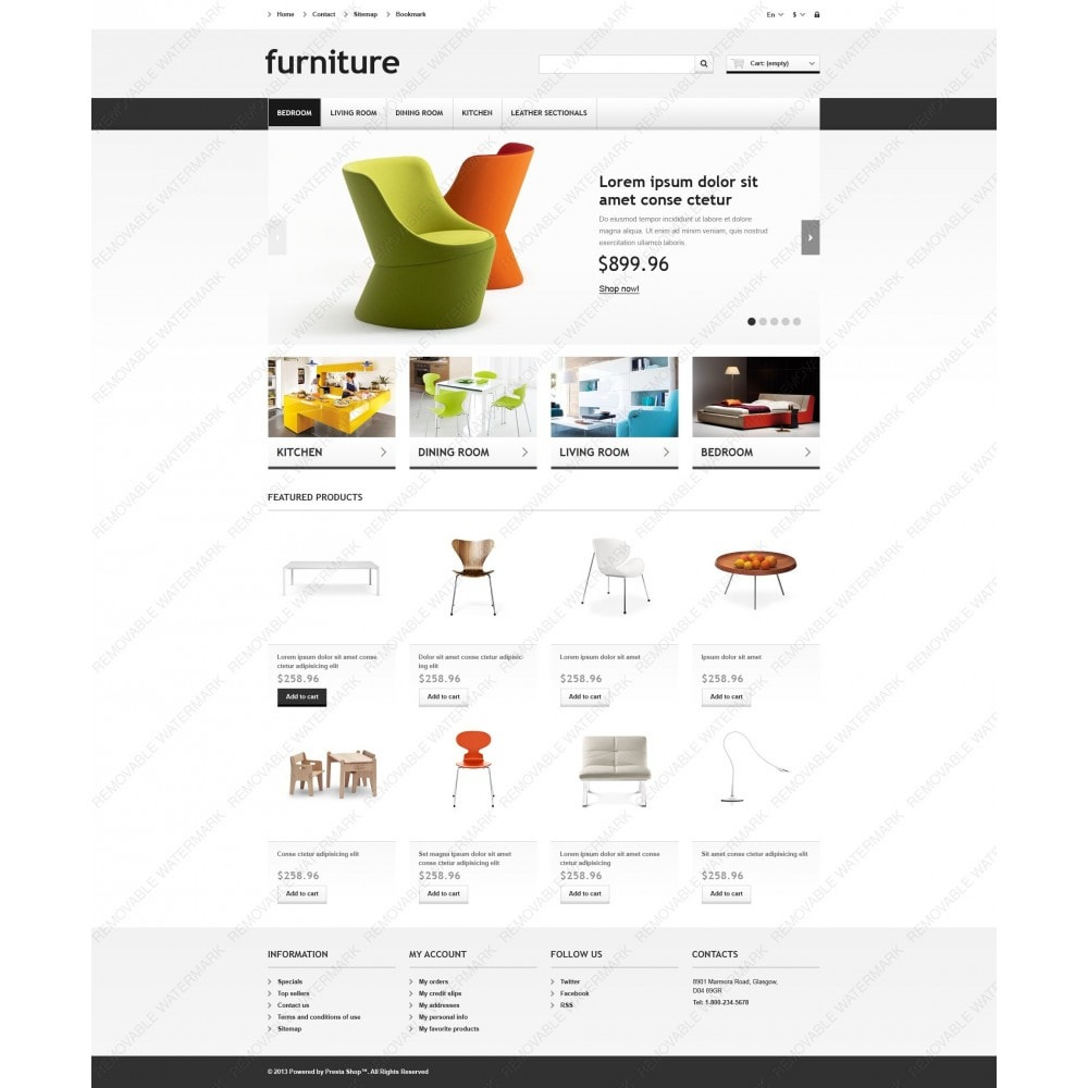 theme - Kunst & Kultur - Responsive Furniture Store - 6
