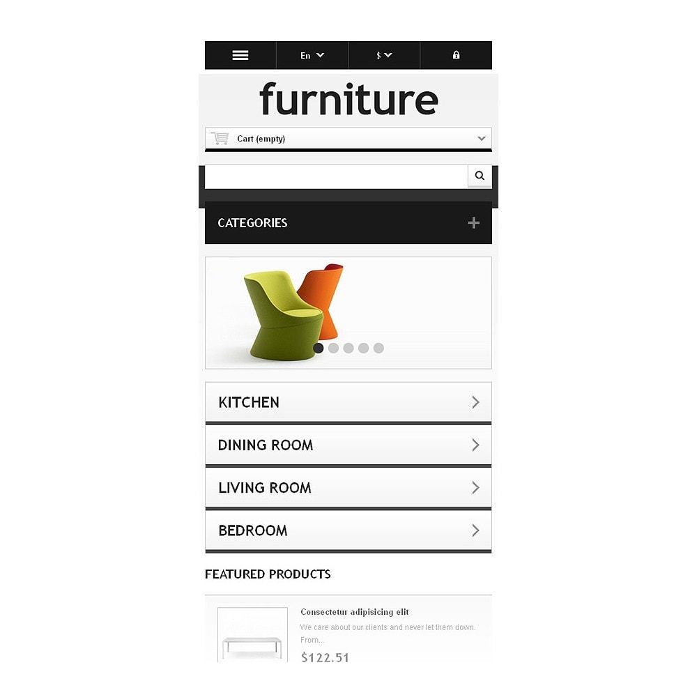 theme - Kunst & Kultur - Responsive Furniture Store - 9