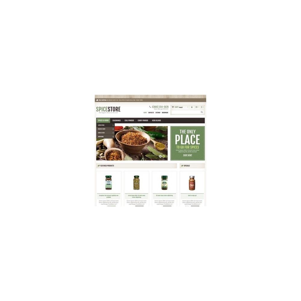 theme - Cibo & Ristorazione - Responsive Spice Store - 3