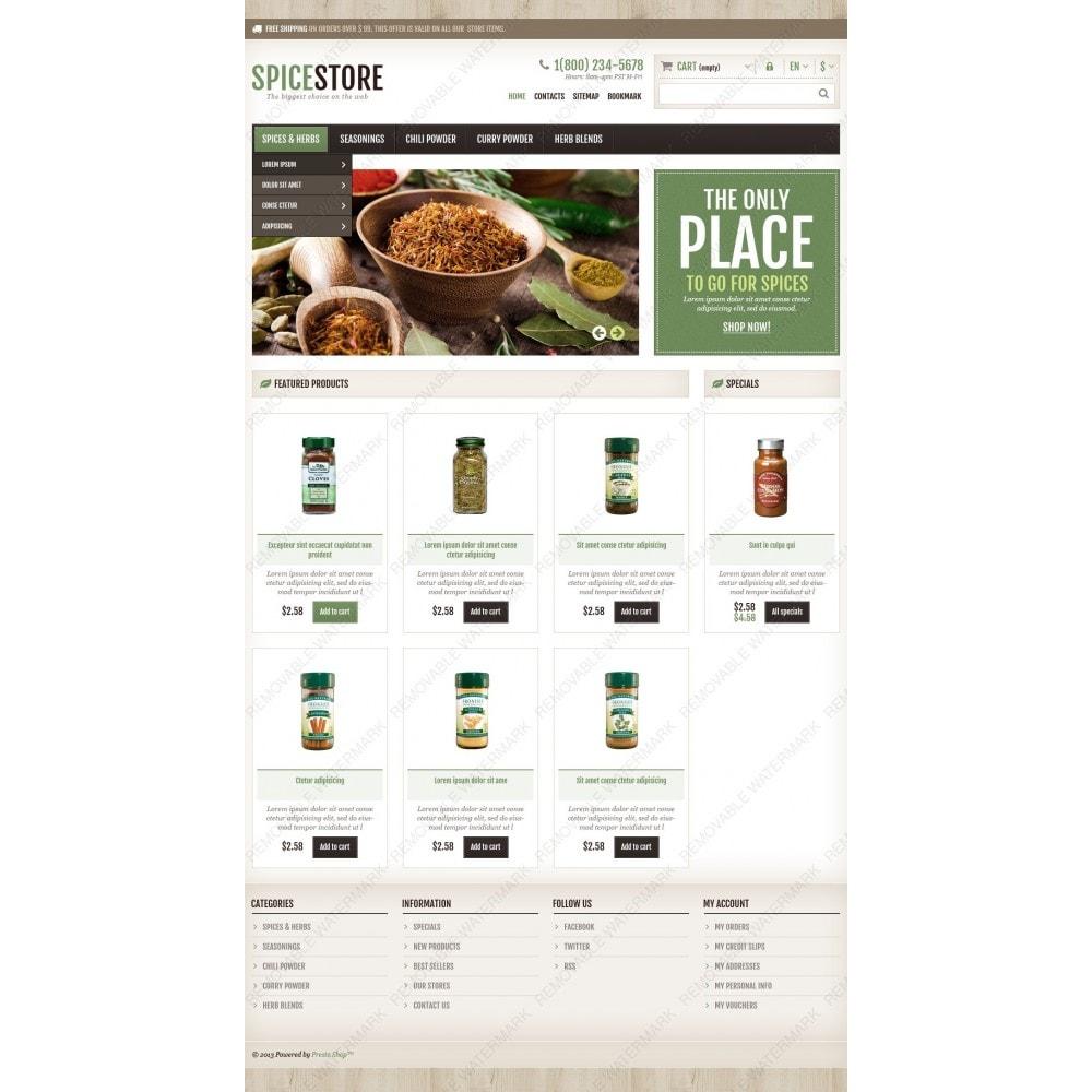 theme - Gastronomía y Restauración - Responsive Spice Store - 4