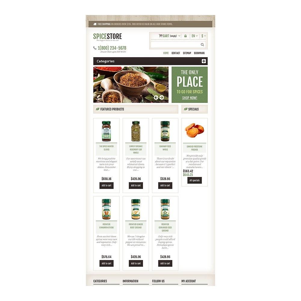 theme - Gastronomía y Restauración - Responsive Spice Store - 8