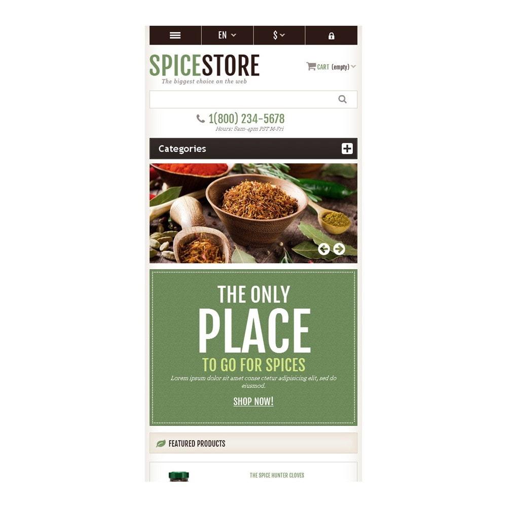 theme - Cibo & Ristorazione - Responsive Spice Store - 9